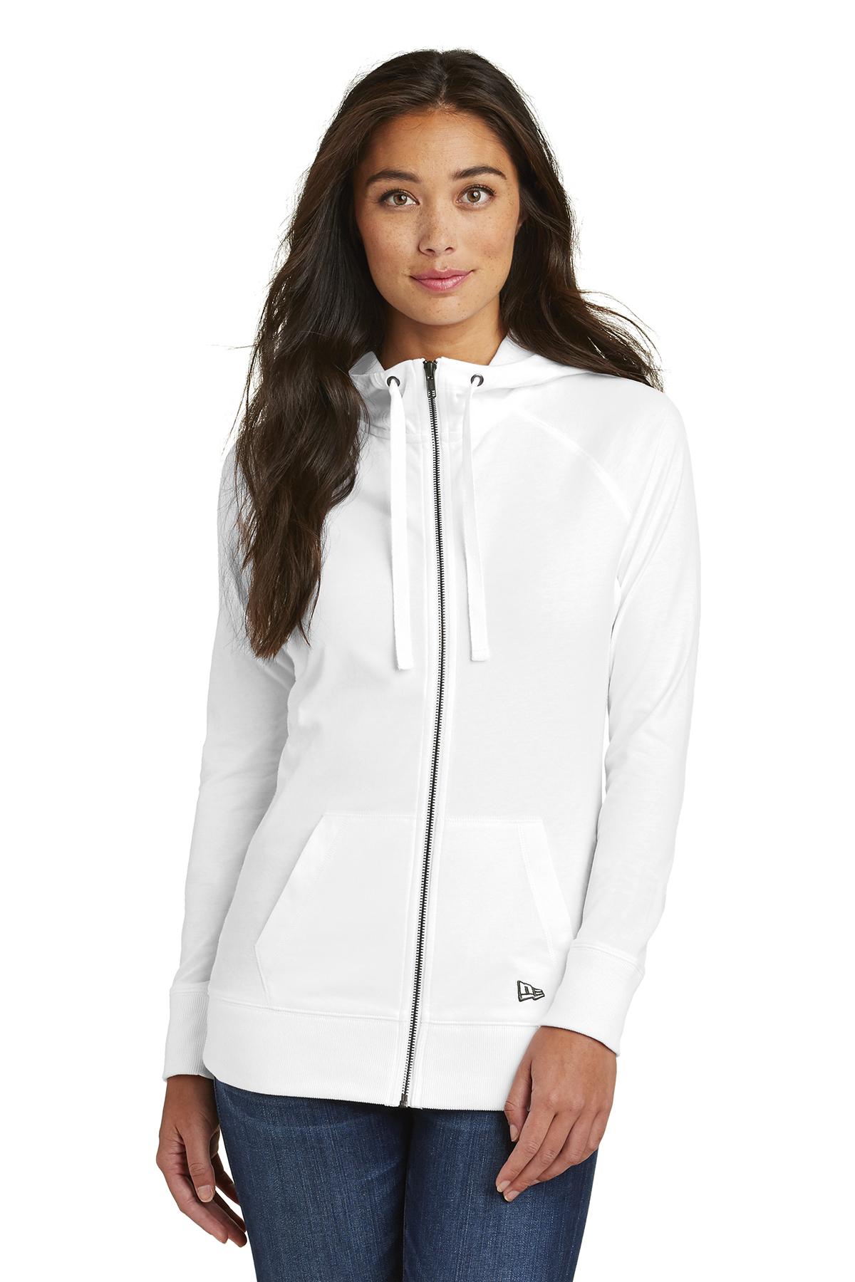 1ae0bd53d New Era® Ladies Sueded Cotton Blend Full-Zip Hoodie | Ladies ...
