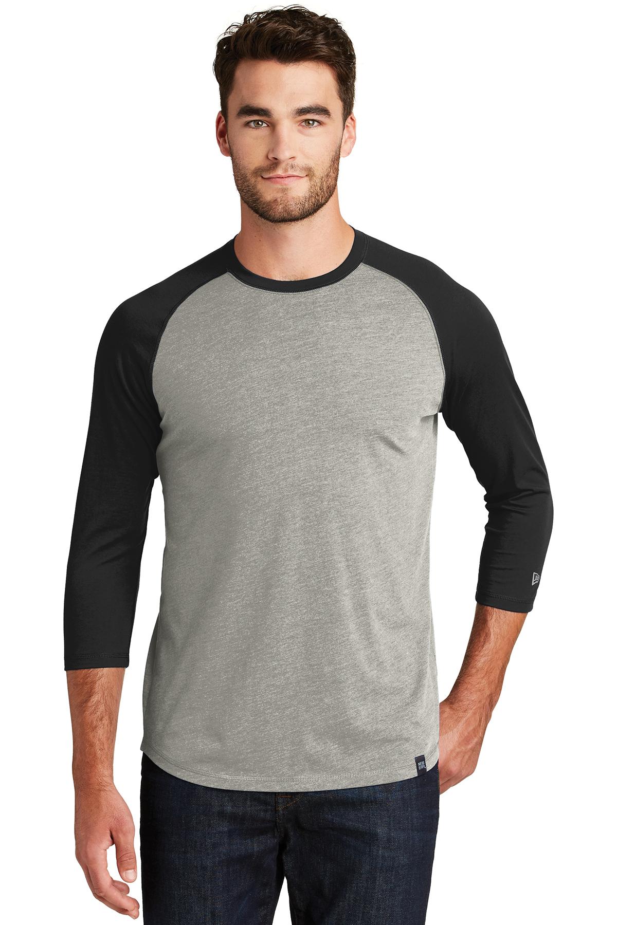 90b2a5e3 New Era® Heritage Blend 3/4-Sleeve Baseball Raglan Tee | Fashion ...