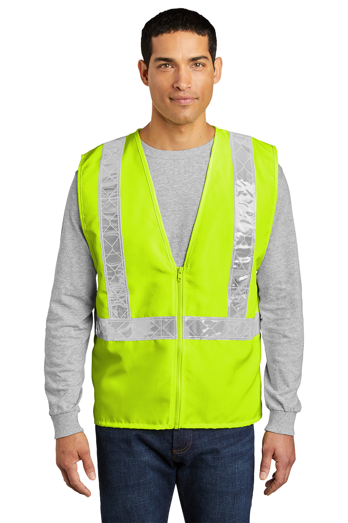 Port authority high visibility safety apparel vest hassan fidelity investment