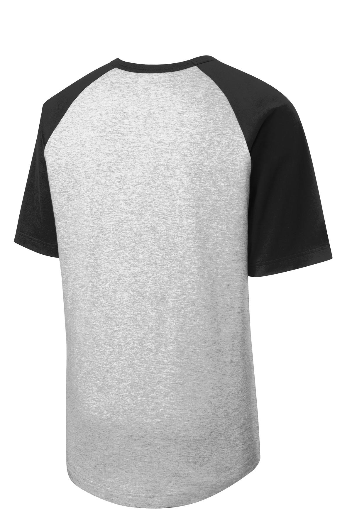 Sport-Tek Youth Short Sleeve Colorblock Raglan Jersey YT201