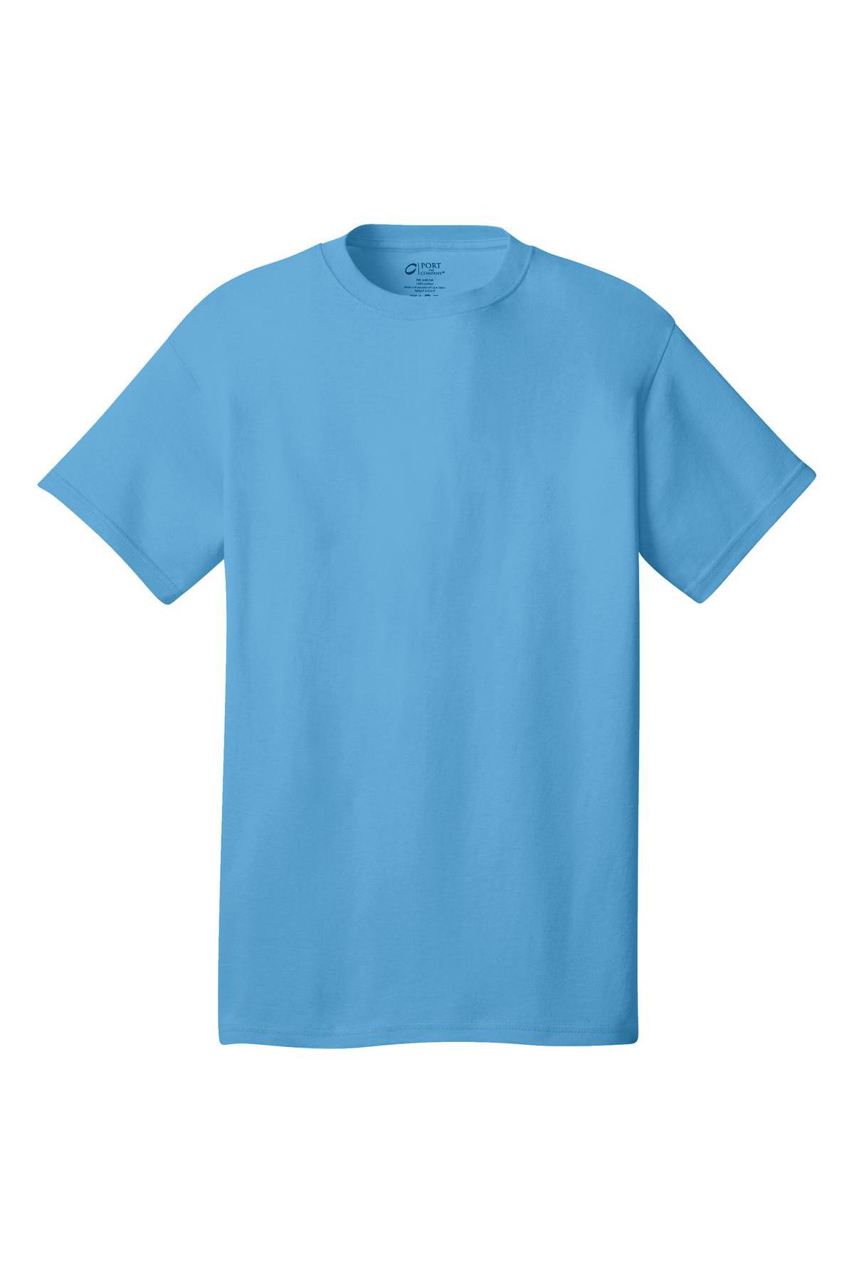 50 50 Outlet >> Port & Company® - Core Cotton Tee | 5-5.6 100% Cotton | T ...