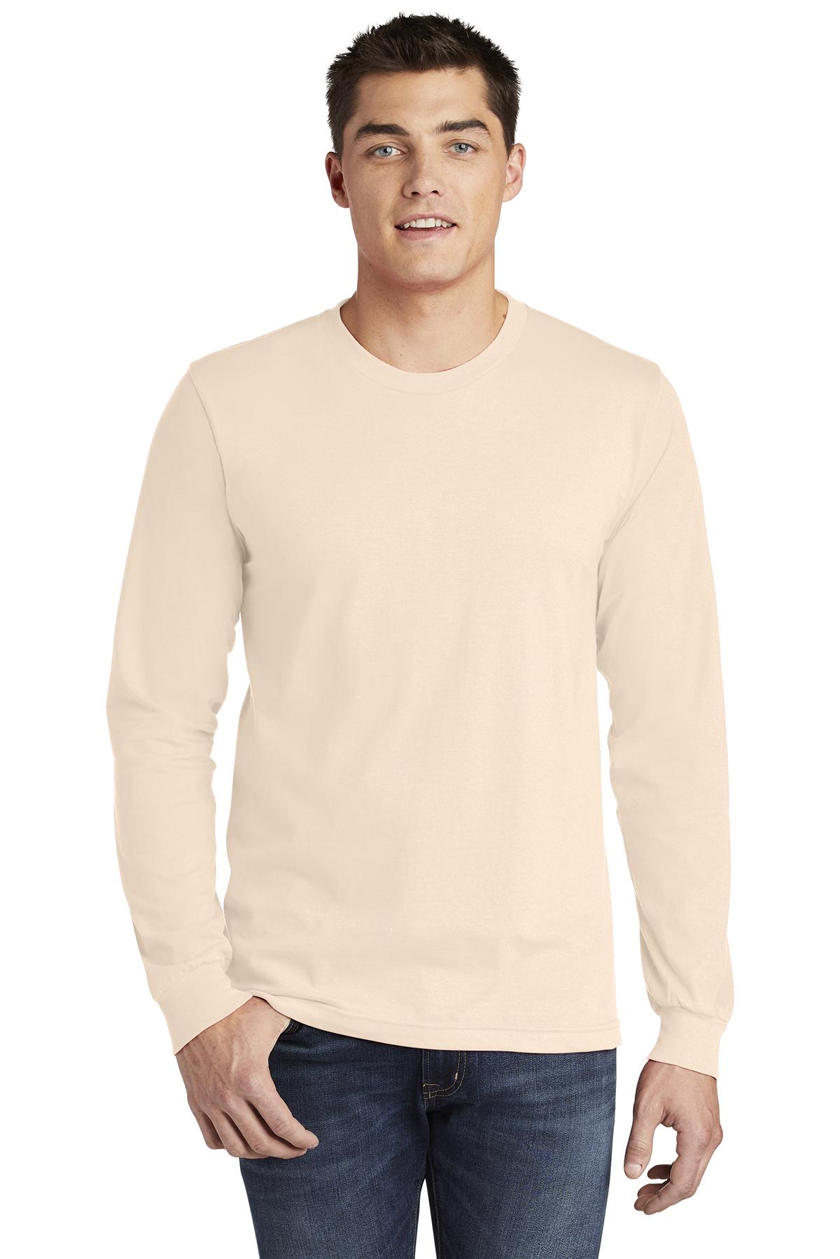0653e2b1bb American Apparel ® Fine Jersey Long Sleeve T-Shirt