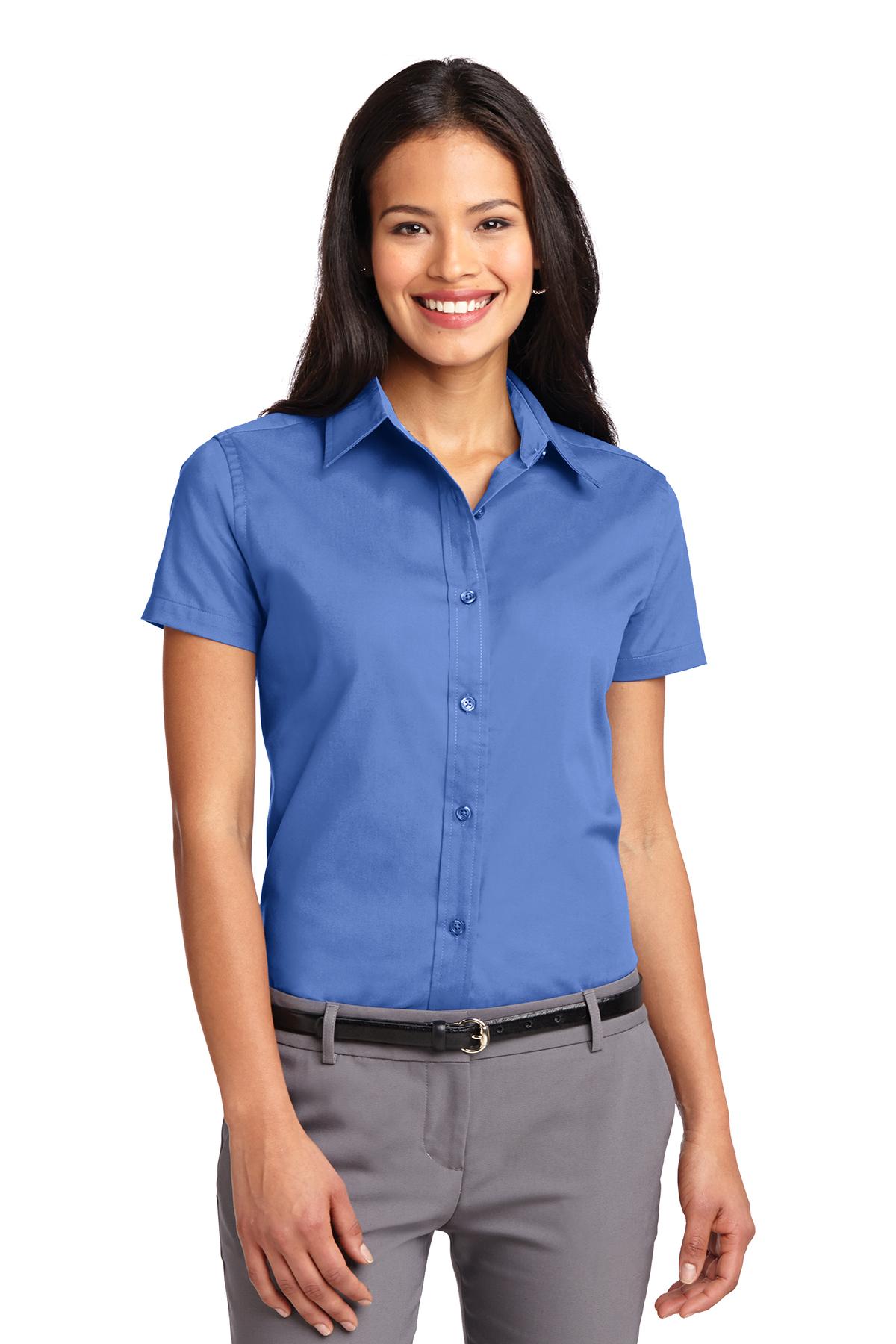 eba689ee Port Authority® Ladies Short Sleeve Easy Care Shirt | Woven Shirts ...
