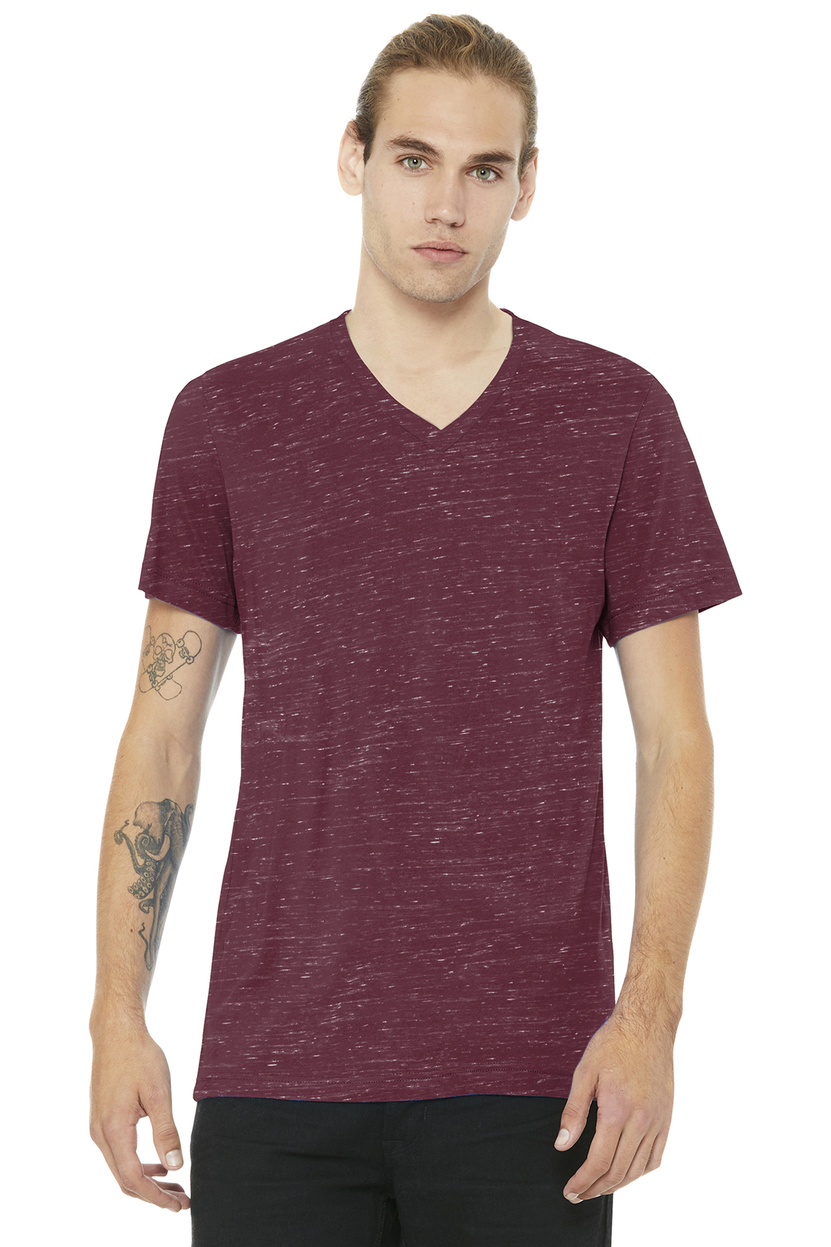 a77954e7 BELLA+CANVAS ® Unisex Jersey Short Sleeve V-Neck Tee | Adult ...