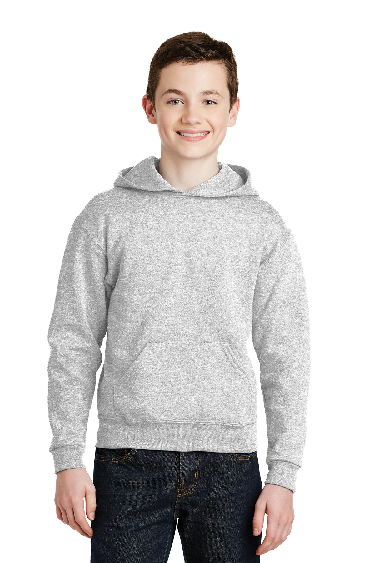 a494d72f8b2 JERZEES® - Youth NuBlend® Pullover Hooded Sweatshirt