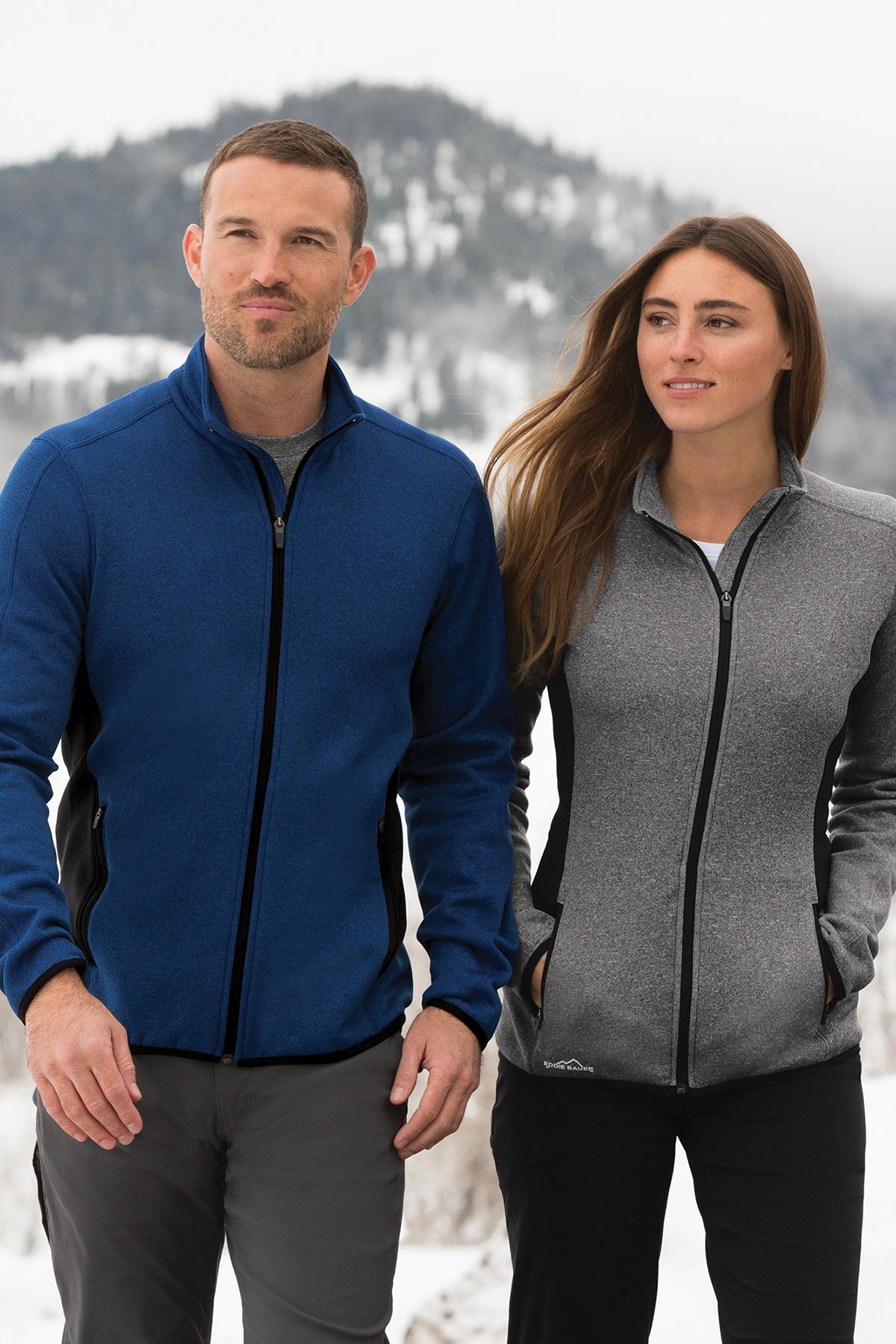 c557fb7c5 Eddie Bauer® Ladies Full-Zip Heather Stretch Fleece Jacket | Ladies ...