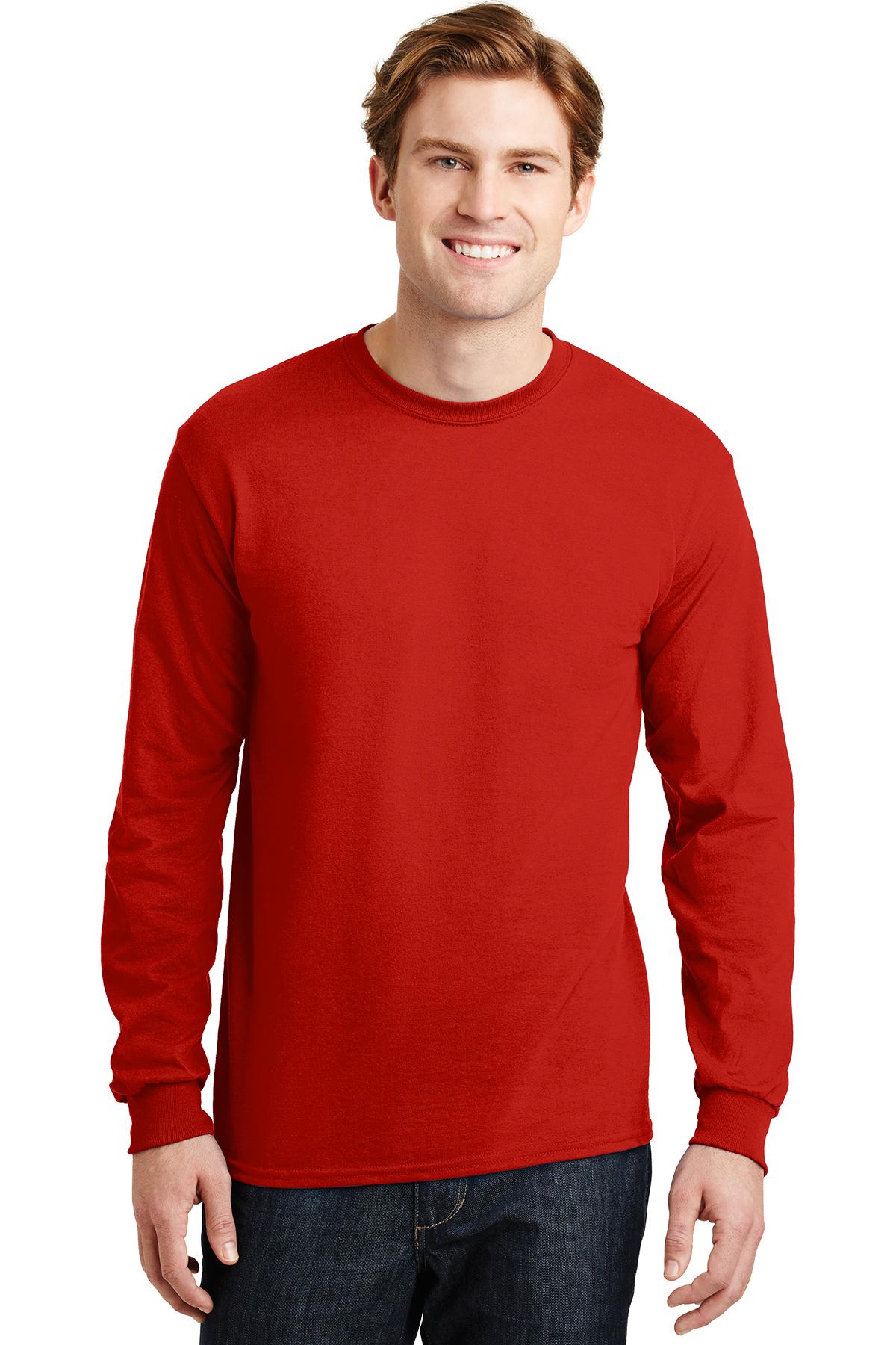 69d0475c4bb Gildan® - DryBlend® 50 Cotton 50 Poly Long Sleeve T-Shirt