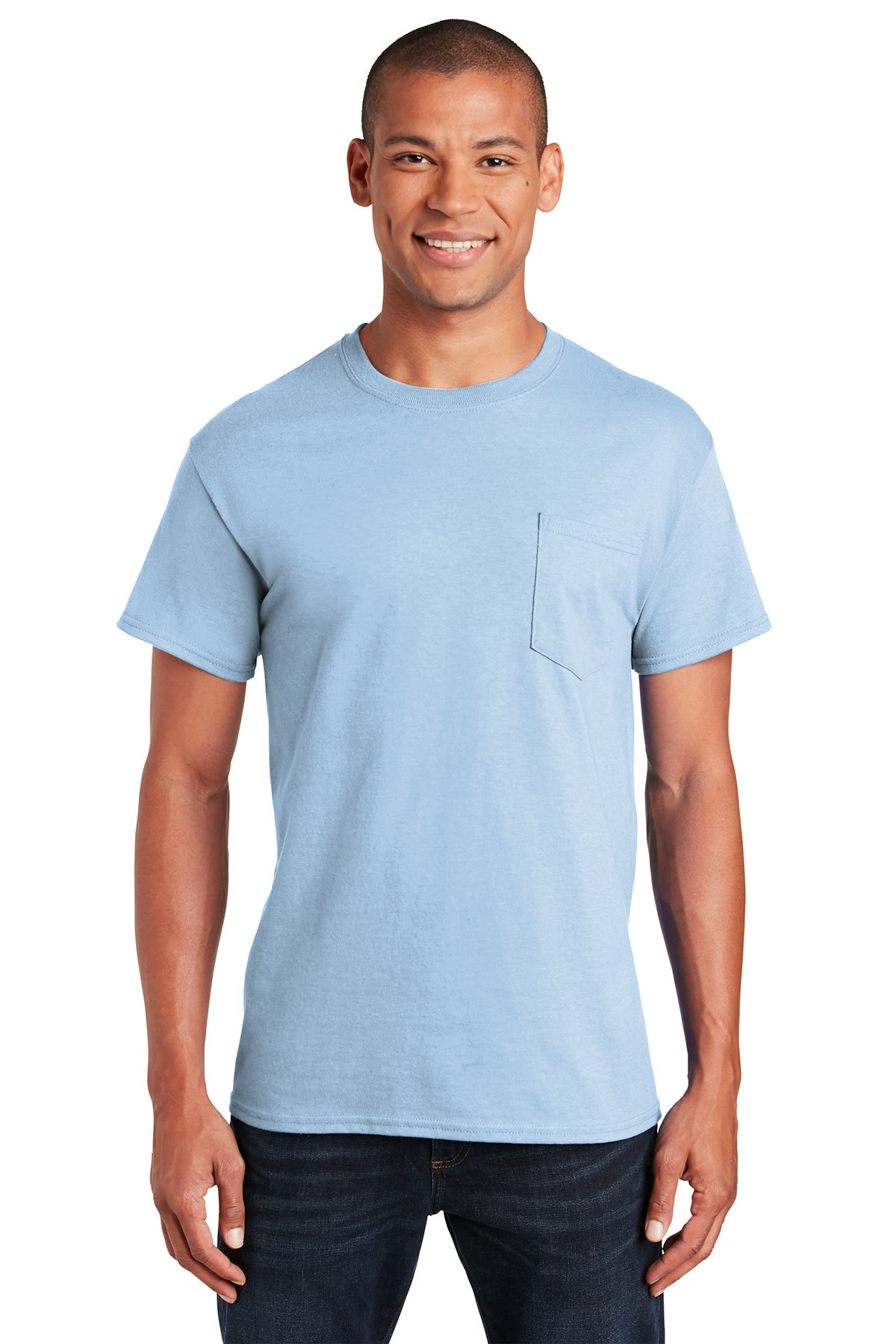 c114c11b1e Gildan® - Ultra Cotton® 100% Cotton T-Shirt with Pocket