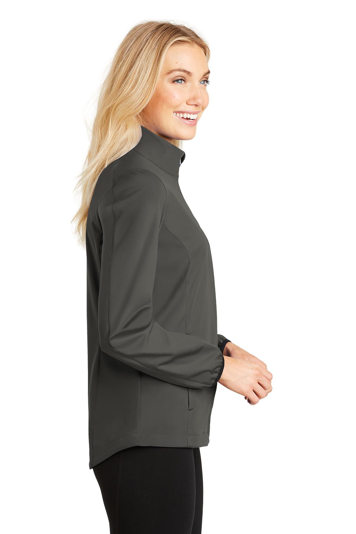 Port Authority Ladies Active Colorblock Soft Shell Jacket-L718-L