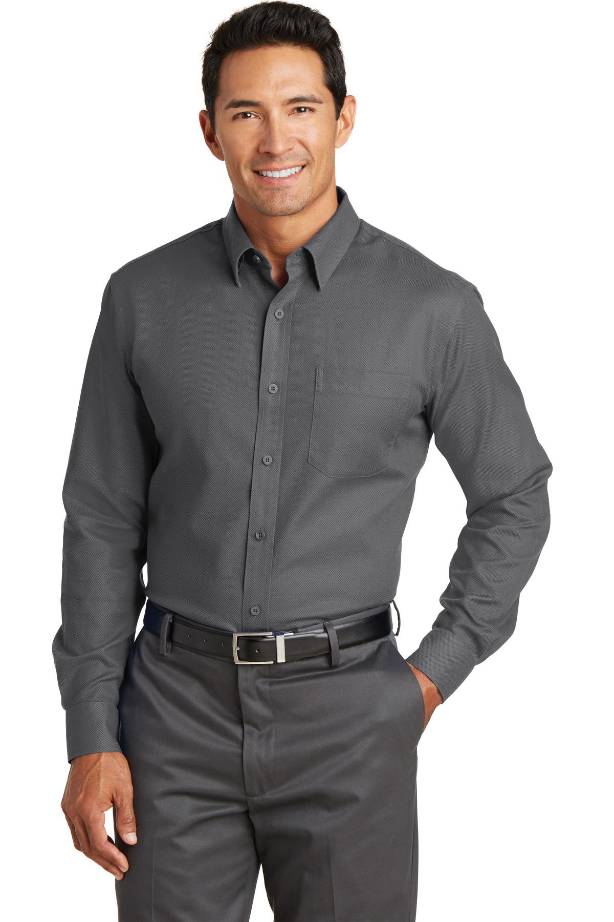 cb56648e712 Red House® Non-Iron Diamond Dobby Shirt | Easy Care | Woven ...